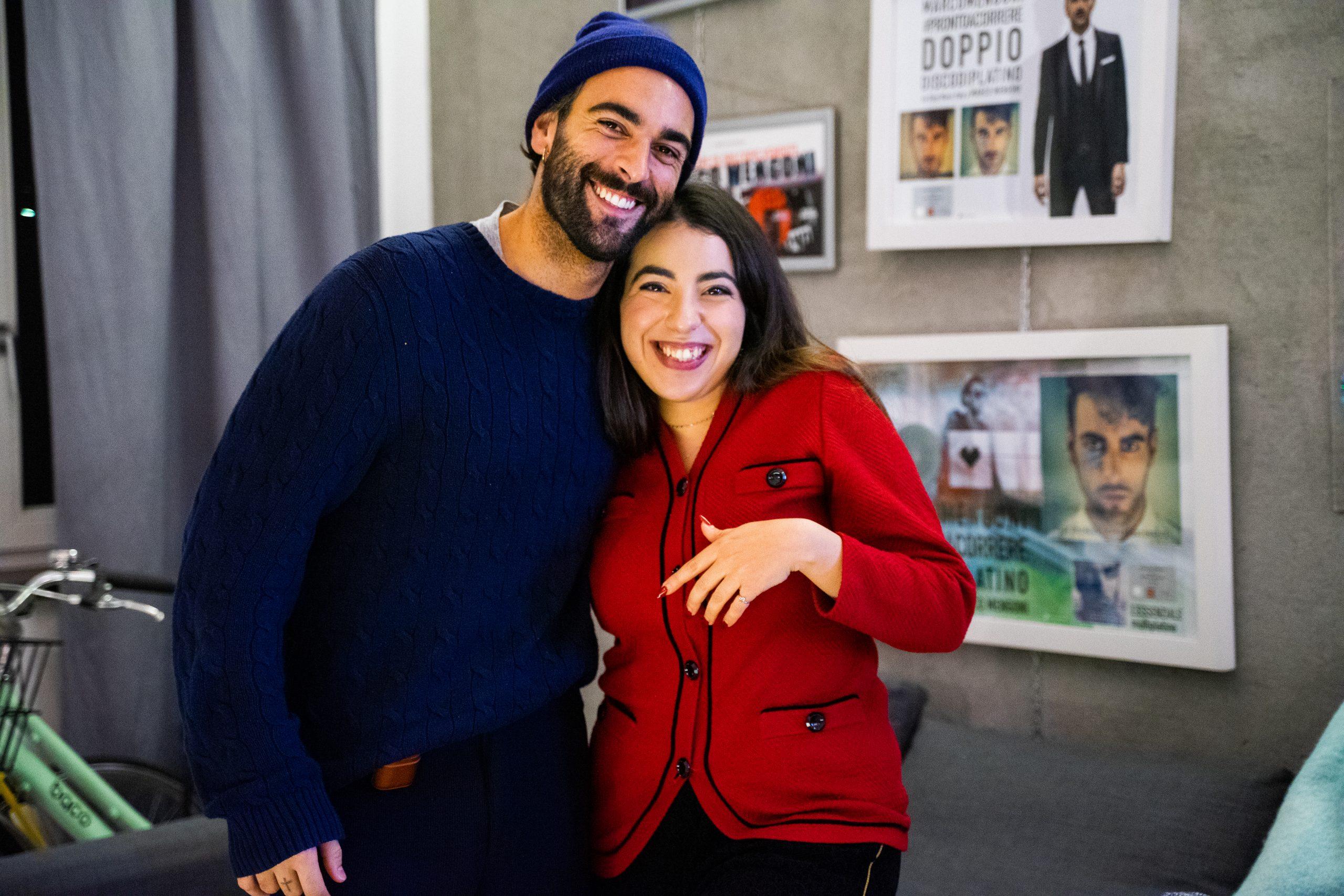 Imen Jane e Marco Mengoni