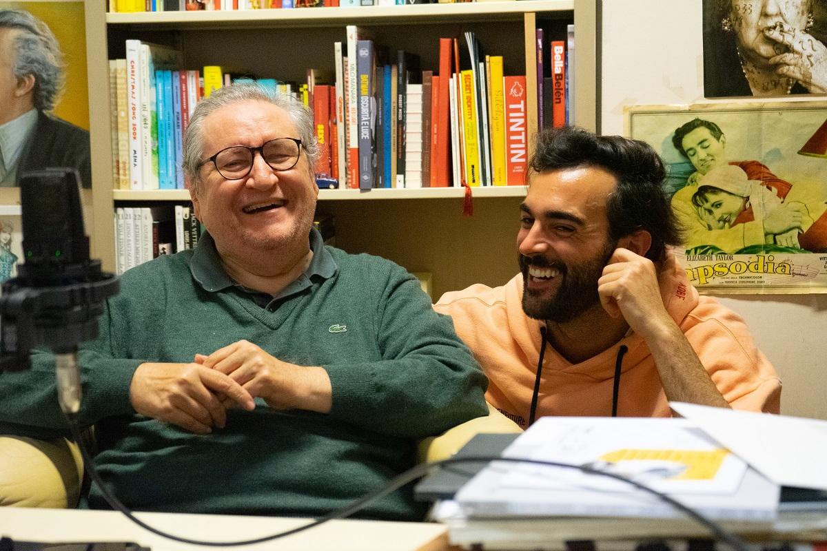 Vincenzo Mollica e Marco Mengoni